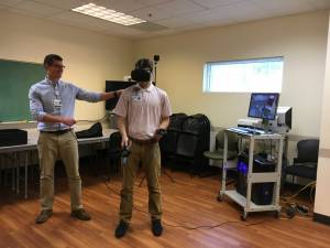 Virtual reality testing environments used to assess concussion