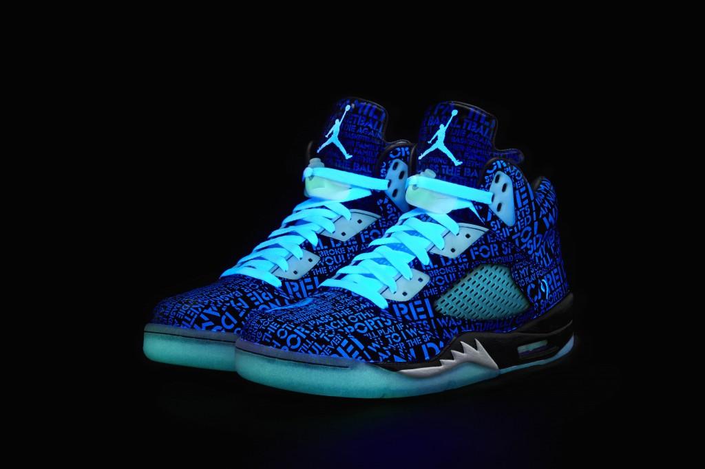 Glow In The Dark Shoes Jordans