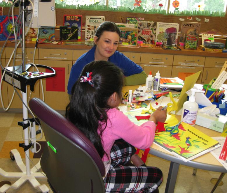 Hospital School Program helps young patients maintain normal