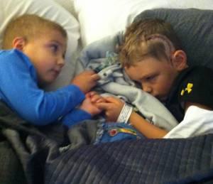 Isaiah and Jameson sleeping copy