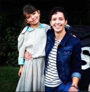 Braylin and Dr. Amy Garcia
