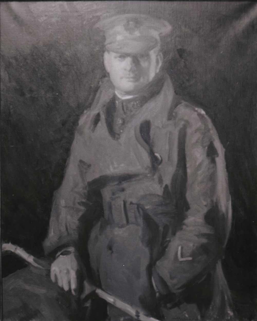 Portrait of Ralph C. Matson, M.D., in military uniform