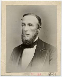 Black and white portrait of James C. Hawthorne, M.D.