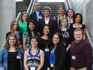 2014 Occupational Health Sciences and Oregon Healthy Workforce Center Interns.