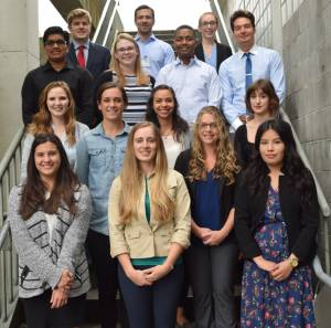 2016 summer intern Group picture