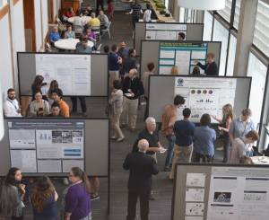 Occ Health Sci Summer internship poster session overview 2016