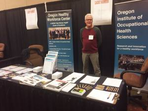 Fred Berman at the Central Oregon Occupational Safety & Health conference in Bend.
