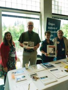 Oregon Institute of Occupational Health Sciences booth at OHSU's 2nd annual Safety Break