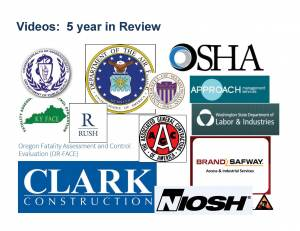 OR-FACE participated in NIOSH video marking the 5-year anniversary of stand-down campaign