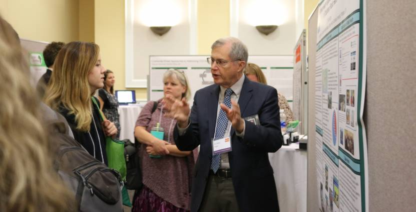 Dr. Kent Anger, PhD poster presentation at OPHA