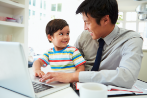 Father and son stock photo supportive supervisor behaviors
