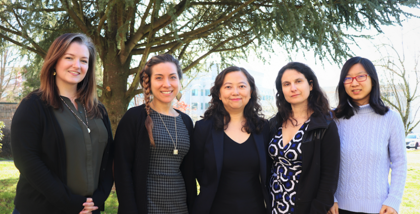 Safety Climate Team Group Photo of 5 team members Dr. Emily Huang Oregon Institute of Occupational Health Sciences Total Worker Health