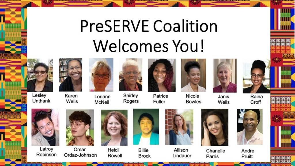 PreSERVE Portland Coalition members