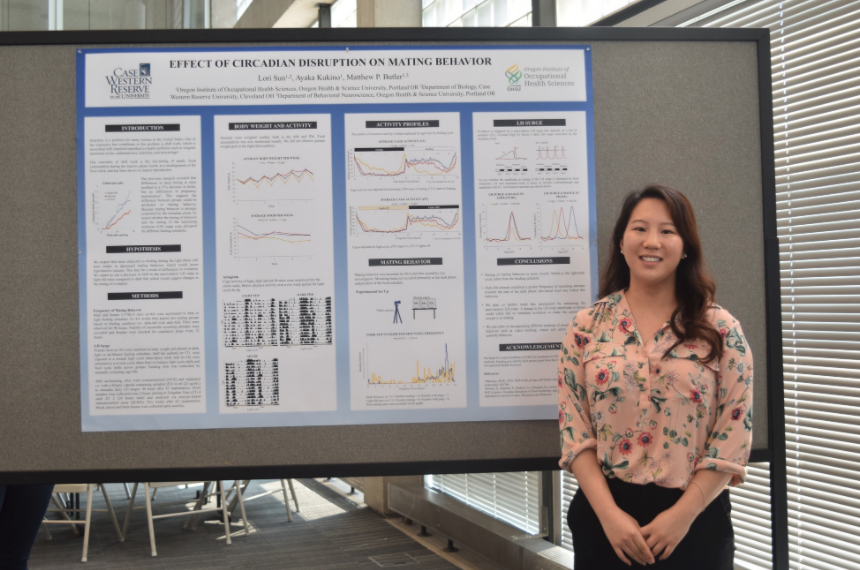 2019 Summer Intern poster session at OHSU