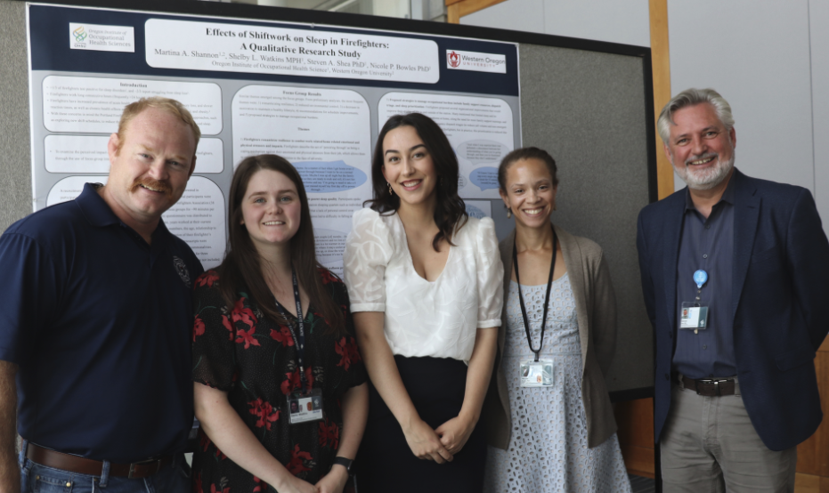 2019 Occupational Health Sciences Summer Intern poster session