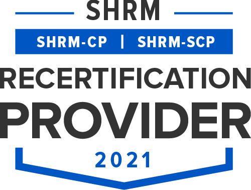 SHRM Recertification Provider Seal 2021 - JPG