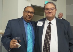 Abhijit Banerjee, PhD, MBA, and Steve Young
