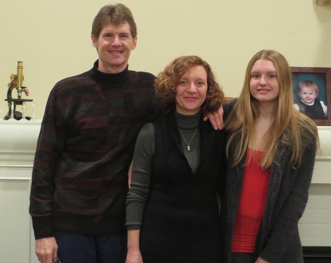 Marina Guizzetti and family