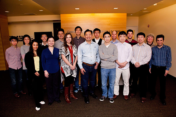 David Huang, M.D., Ph.D., and his team at the Center for Opthalmic Center for Ophthalmic Optics and Lasers Lab, or COOL Lab, at Casey Eye Institute