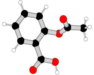Acetylsalicylic acid, a.k.a. aspirin.