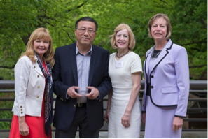 Award recipient Wei Huang,  Ph.D.