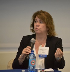 Christine Lorenz, VP, Research & Clinical Collaborations, Molecular Imaging, Siemens, joined the panel on the role of molecular imaging in the era of personalized medicine.