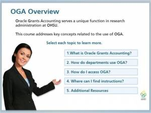 OGA Overview Module