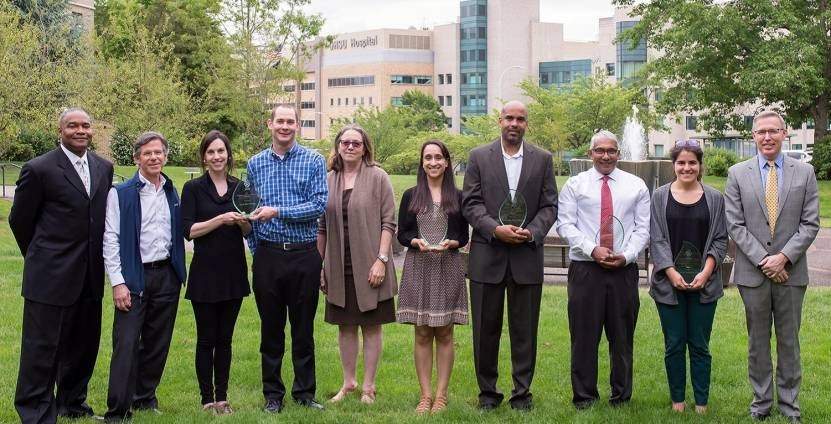 2017 Diversity and Inclusion Award recipients 2017