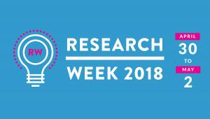 Research Week 2018 - April 30 to May 2