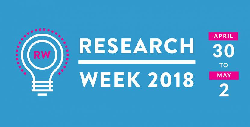 research week detailed calendar and app