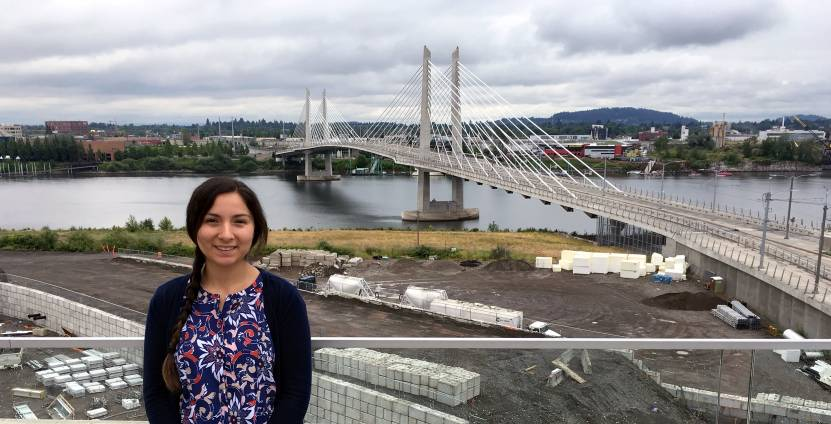 Dove Spector, senior research assistant with the Northwest Native American Center of Excellence at OHSU
