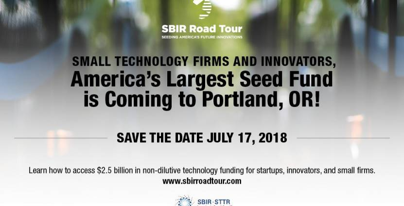 SBIR Road Tour: Calling researchers, entrepreneurs, and OHSU