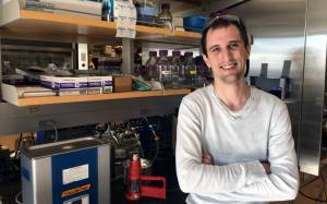 Aurelien Laguerre, postdoctoral research fellow in the lab of Carsten Schultz, Ph.D., Department of Physiology and Pharmacology