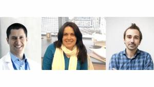 Biomedical Innovation Program Awards 2019 recipients Luiz Bertassoni, Summer L. Gibbs, Michael Cohen