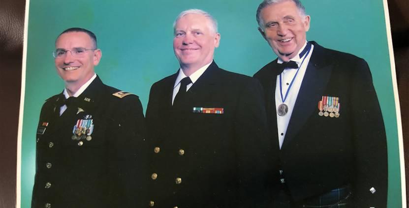 From left: Donald Trunkey, Martin Schreiber, and Richard Mullins
