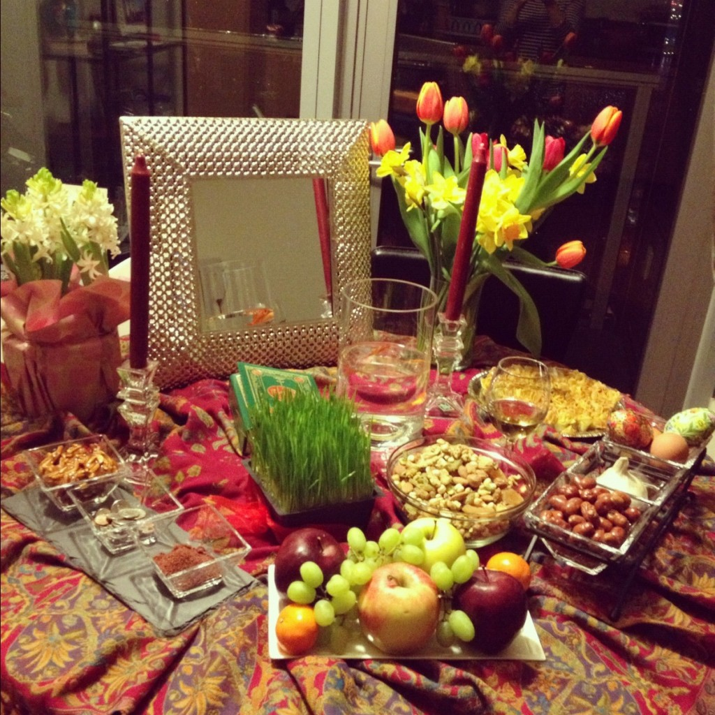 Spring Equinox & new year dinner table setting u2013 Loris Decoration