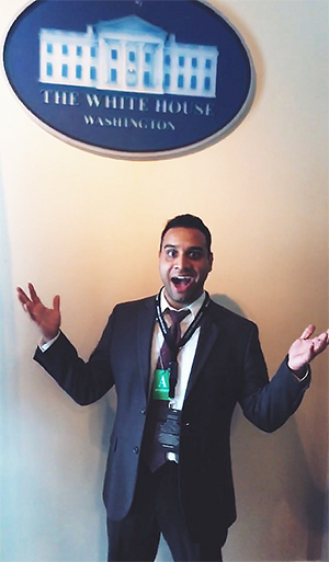 Roheet at the White House